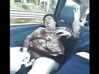 アジアン, バス, おばあさん