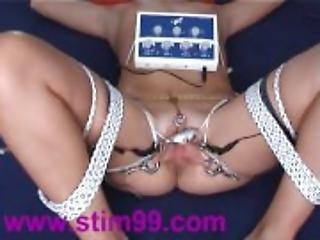 Extreme Electro Torture 302 Orgasms Bondage Electric Shock