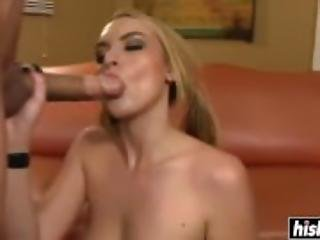 Busty blonde fucking  featuring Keira Nicole