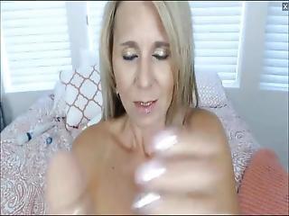 Busty Stepmom Loves Masturbating On Webcams