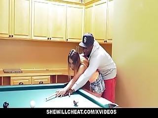Shewillcheat - Petite Wife Rides Bbc