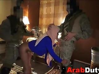 Arab Working Girl Fucked By Soldiers On Tour Of Duty