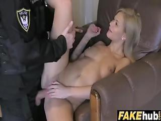 Fake Cop Cops Charm Gets Milf Wet