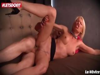 Letsdoeit French Milf Slut Abused And Ass Fucked In Hotel Room