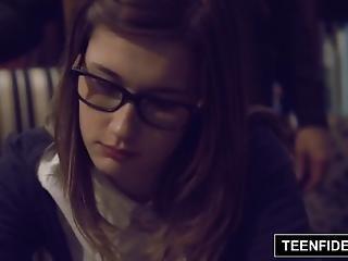 Teenfidelity - Schoolgirl Cutie Alaina Dawson Creampied On Teacher S Desk