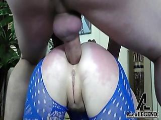 Julkinen anaali creampie