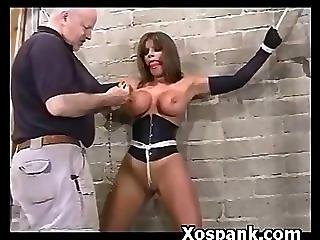 Crazy Spanking Dirty Hoe In Smothering Fetish