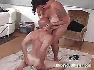 Bbw Makes Her Husband Her Bitch