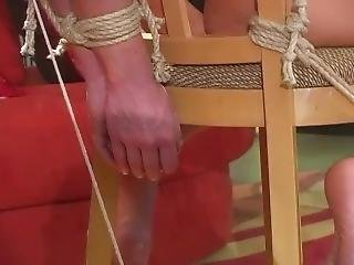 Chair Tied Head Back