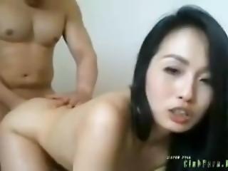 amateur, asiático, sexando, chino, muñeca, duro, milf, puta, fumando, blanco