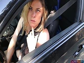 Milf Helps Man With Broken Car Clip