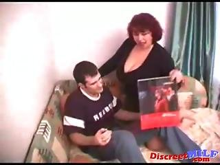 Fat Russian Mom Seek Young Cock