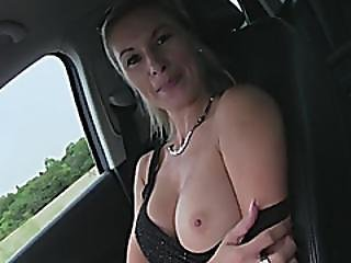 Hitchhiker Alena Gets Her Pussy Pounded By Stranger Guy