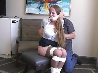 Steve Villa 001 - Hotelmanager Pepper Tied And Left Alone