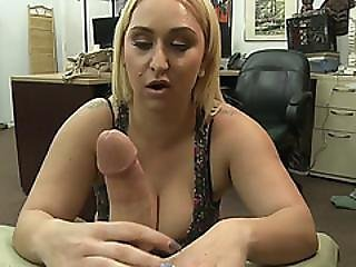 Busty Big Ass Stripper Nina Kay Gets Wild In The Shop And Rides Huge Horny Cock