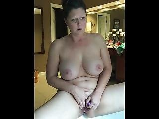 Bi Milf Rubbing Clit Until Orgasm Then Fingers Her Pussy To Satisfaction