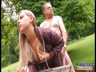 Old Man Fuck Pretty Teen
