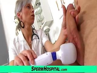 Clinic, Cumshot, Doctor, Grandma, Granny, Handjob, Hospital, Jizz, Mature, Medical, Milf, Milk, Mom, Mother, Sexy, Sperm, Spit, Uniform, Young
