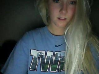 blondin, Tonåring, webcam