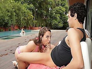 Lily Love Swallow Xander Corvus Big Cock Deep Throat