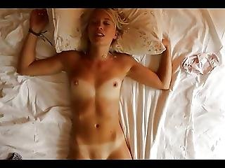 Blonde Babe With Tanlines Rubs Out An Orgasm