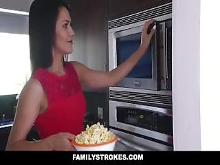 Familystrokes - Fucked My Bro During Movie Night