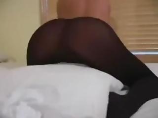Pantyhose On Tease