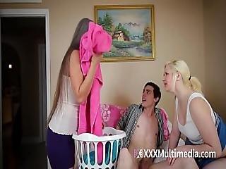 Milf Fucks Teen Daughter S Boyfriend Featuring Leilani Lei And Fifi Foxx - Cougar Fucks 18yo Boy
