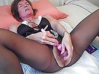 Muffy Four Dildos Extreme Orgasms Squirts Galore