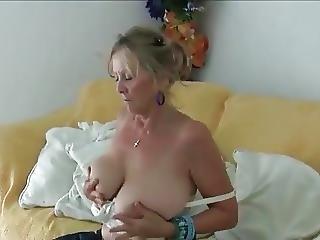 Granny Undressing