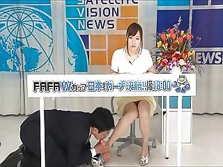 Japanese Footjob And Handjob