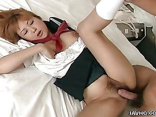 Naughty School Girl Getting Spoon Fucked By Her Lover