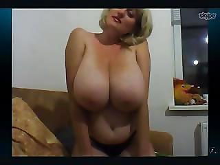 Russian Big Boobs Queen Yana Pt 4