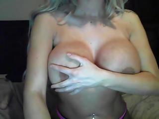 *raquel* Big Dd Perfect Tits Blonde Teases On Cam Mfc