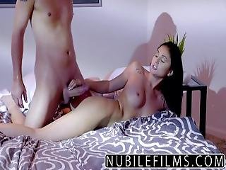 Nubilefilms   Ariana Marie Milks Cum From Hard Cock