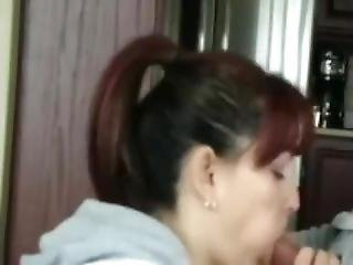 Classy Milf Giving A Great Blowjob