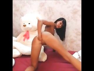 Super Hot Romanian Camgirl Epic Anal Fist Show