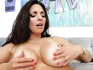 Teen Licks Moms Busty Milf Friend