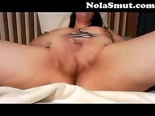 Cute Chubby Teen Slut Masturbating On Webcam