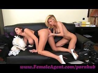 Femaleagent. Ravishing Blonde Needs No Persuading