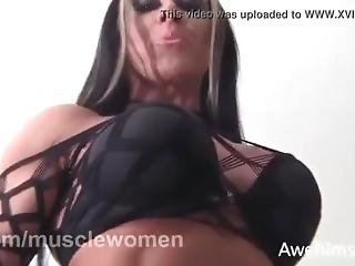Monica Martin Sexy Muscles