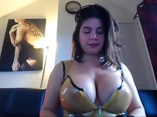 amatorski, duże cycki, fetysz, lateks, masturbacja, milf, orgazm, drażnienie, zabawki, kamerka