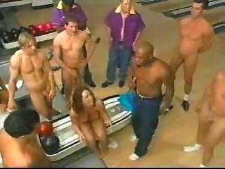 Gangbang In The Bowling Alley