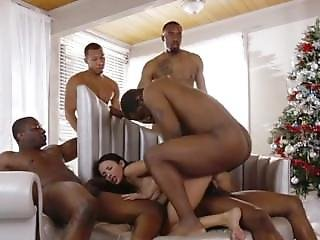 Sexy French Chick Loves Black Dicks
