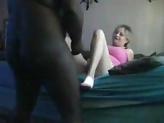 Big Black Man Pounds His White Slut Hard