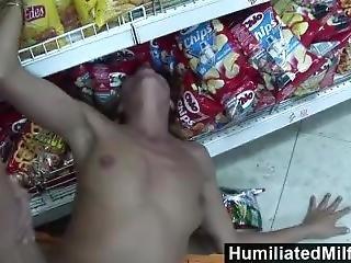 Humiliatedmilfs - Slutty Milf Sucks And Fucks At The Convenience Store