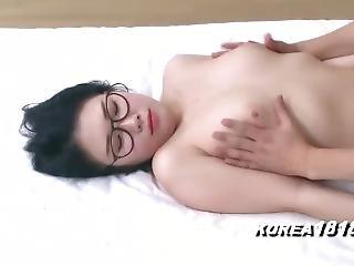 ázsiai, szemüveg, japán, kóreai, publikus