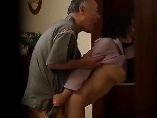 Married Big Tits Woman Pay Rent By Having Sex With Landlord