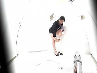 Office Toilet Spy Camera Pissing