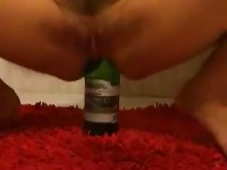 Anal Raiding Bottle Moscow Slut Ass Gaping Russian Whore